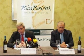 RíasBaixascualificou un 12% máis de viño en 2014