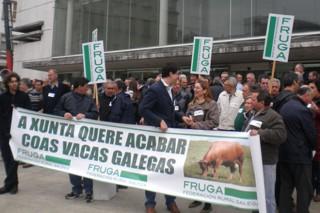 A Fruga denuncia que a Consellería prexudica a Galicia ao non cambiar o período de control do pago verde