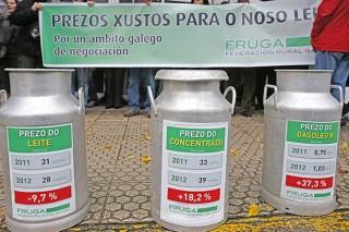 La Comisión Europea prevé un incremento del precio de la leche de aquí al 2030