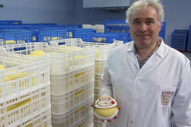 Benigno Pereira, impulsor e propietario de Queixos Bama.