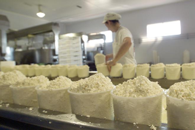 Leve recuperación en marzo dos produtos lácteos na UE