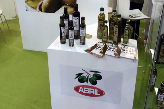 Aceites Abril presentou o seu virxe extra ecolóxico en Biofach 2015