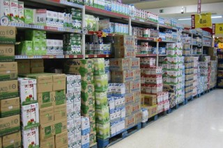 O labirinto lácteo ten saída no supermercado