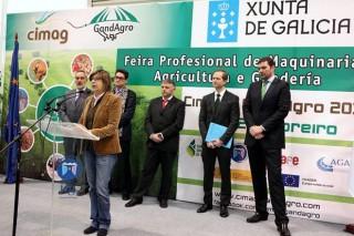 A conselleira apela en Cimag-GandAgro á internacionalización do sector lácteo