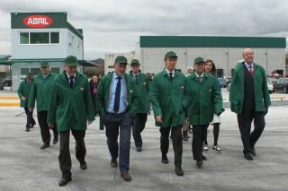 Aceites Abril inaugura a primeira planta de refinación de aceite en Galicia