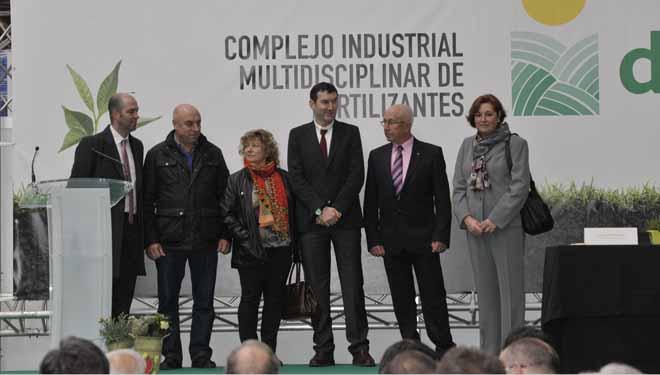 Delagro inaugura en Galicia a maior planta de fertilizantes do Noroeste