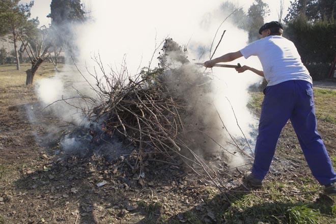 Dende este luns prohíbense en Galicia as queimas agrícolas e forestais