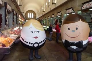 Só o 1% dos galegos está informado do código impreso no ovo