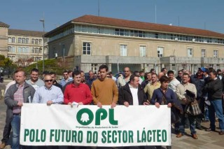 A Organización de Productores de Leche mobilizarase despois das eleccións