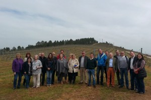 Visita de los Masters of Wine a O Ribeiro.