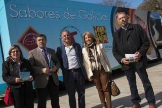Ternera Gallega, el quesoArzúa-Ulloay el vino de la Ribeira Sacra se unen para promocionarse en España
