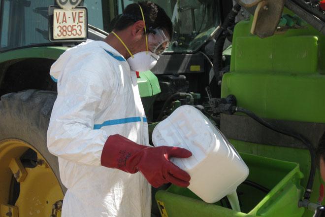 Curso de aplicador y manipulador de productos fitosanitarios en Mazaricos
