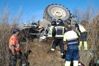 Máis de 70 mortos en accidentes de tractor dende 2011