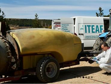 En España solamente el 34% de los equipos fitosanitarios pasó la ITEAF en plazo