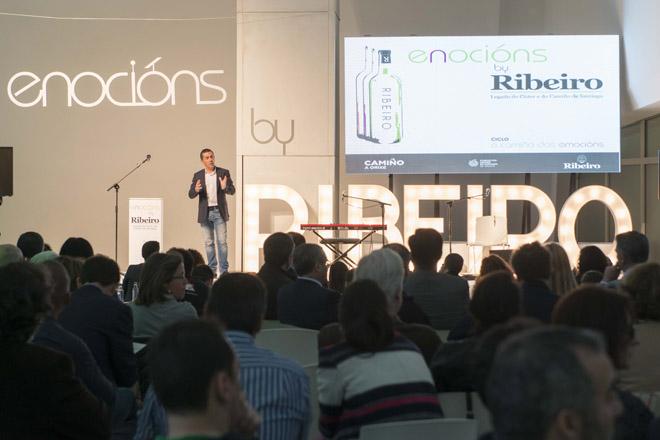 Enocións By Ribeiro, pasado e futuro do viño na Cidade da Cultura