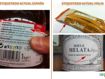 Petición unánime do Parlamento Galego dunha etiquetaxe clara do mel
