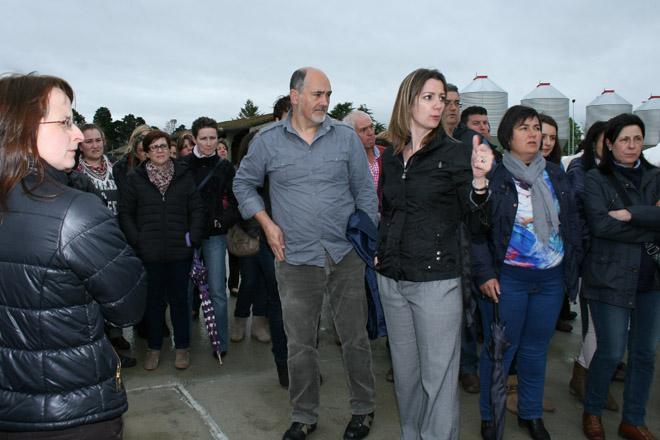 Visita dos técnicos dos AFRICOR de Galicia ao Centro de Recría Gayoso Castro