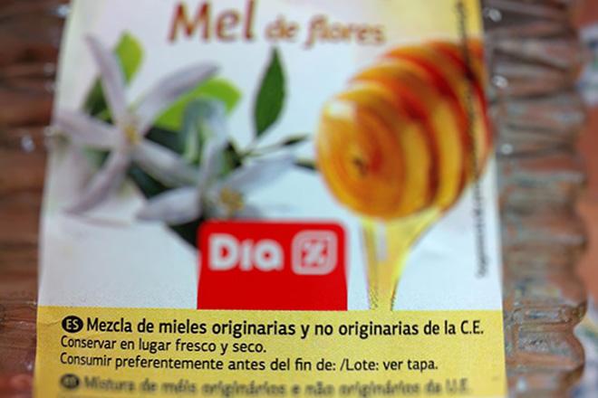 Non do Goberno a indicar o país de orixe na etiqueta do mel