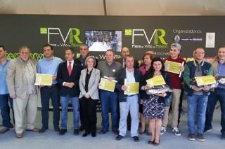 Premiados en la cata de la 52ª Feira do Viño do Ribeiro