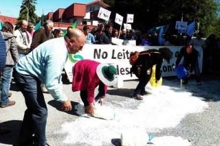 Protesta en Logística Alimentaria, que ofrece liquidacións a 17 céntimos