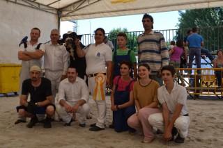 Gandeiría Manteiga alzouse cos premios de Vaca Gran Campiona de Feiradeza 2015 e de Mellor Criador