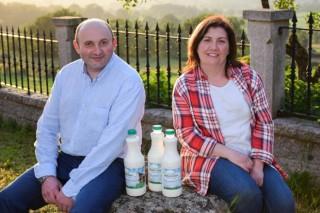 Gandería Quintián, un exemplo de venda directa do leite