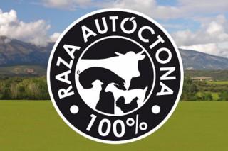 """Galiña de Mos, Cabra eOvella Galegaxa contan co logo """"Raza Autóctona"""""""