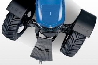 Lastrar as rodas do tractor con auga: vantaxes e desvantaxes