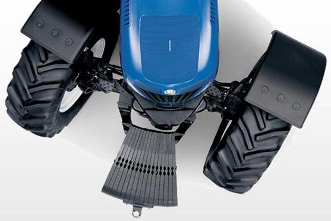Lastrar las ruedas del tractor con agua: ventajas y desventajas