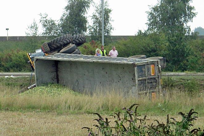 Recomendacións para a prevención de accidentes no tractor