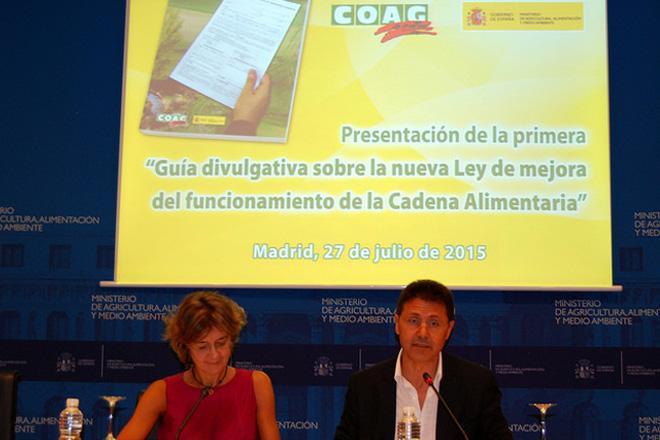 COAGpresenta a 1ª Guía divulgativa sobre a Lei de mellora da Cadea Alimentaria