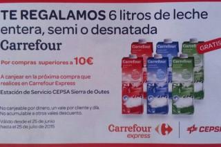 Denuncian que a campaña de Carrefour/Cepsa é un insulto aos gandeiros