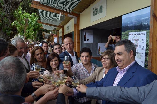 Inaugurada a LXIII Festa do Albariño en Cambados