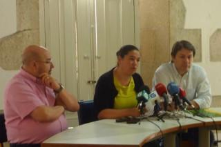 """Os sindicatos piden áXuntaque """"non infravalore"""" a crise do leite"""