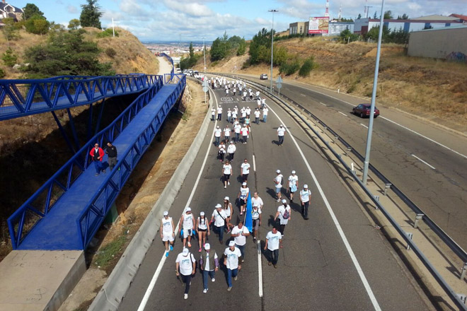 Gandeiros de Castilla inician a Marcha Branca a Madrid