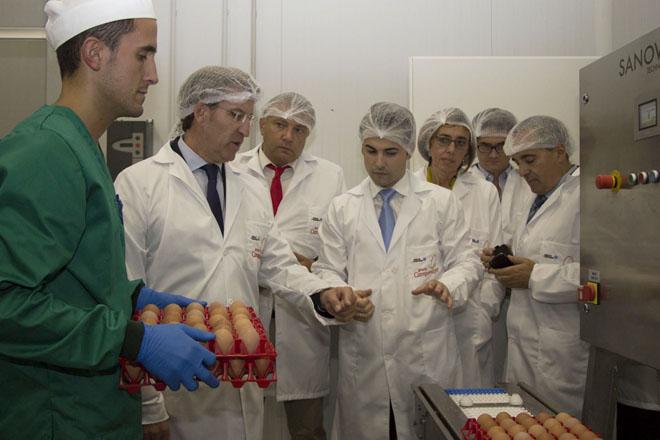 Granja Campomayor inaugura a primeira planta de pasteurización de ovo de Galicia