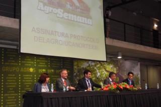 Delagro e Ucanorte crean unha gran central de compras agrarias para España e Portugal