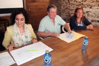 A Xunta analiza en Agolada como frear a exclusión da poboación das áreas rurais