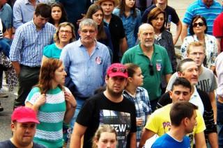 Galería de imágenes de las protestas del jueves en Compostela