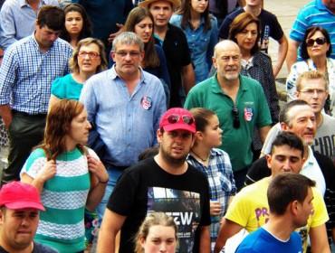 Galería de imaxes das protestas do xoves en Compostela