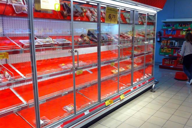 supermercado dia baleiro
