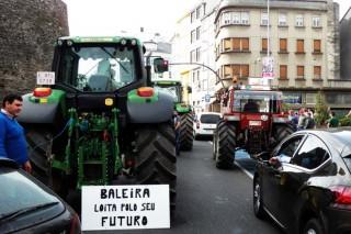 A falta de unidade leva á desconvocatoria da tractorada de Lugo