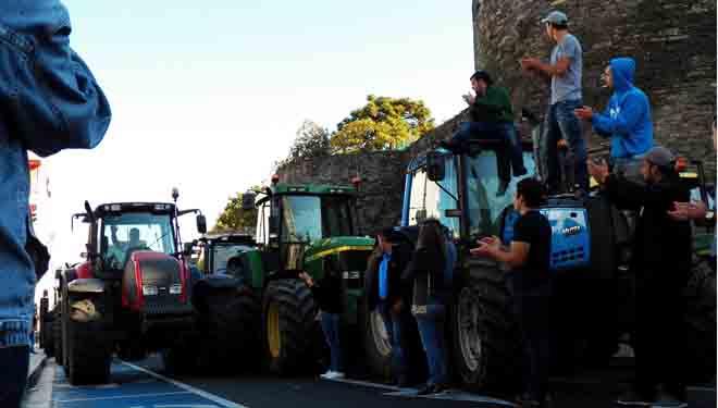 Lugo vive o terceiro día do 15-M do agro
