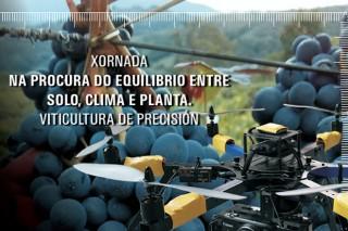 A EVEGA organiza este xoves unha xornada sobre viticultura de precisión