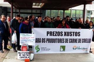 Os cunicultores galegos manifestaranse este venres en Madrid