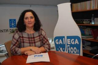 """""""Imos incrementar a campaña de promoción do leite Galega 100%"""""""