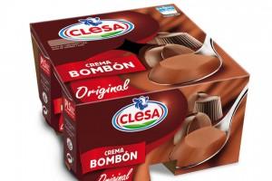 Crema Bombón, uno de los productos de más éxito de Clesa