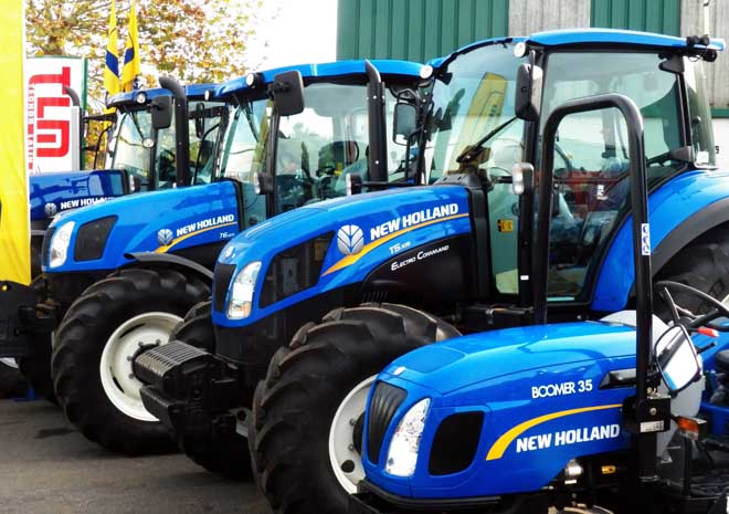 New Holland destaca pola amplitude de gama.