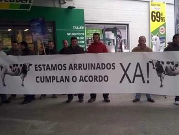 Agromuralla convoca unha manifestación o martes 6 de setembro en Lugo