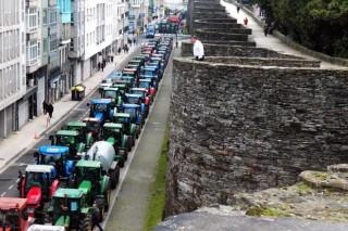 Agromuralla anuncia a continuidade da súa tractorada